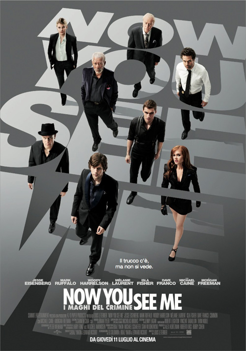 Now You See Me - I Maghi del Crimine film