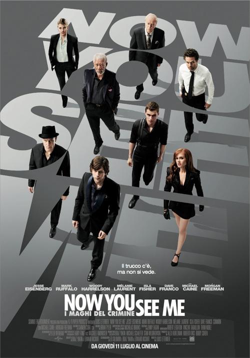Now You See Me - I Maghi del Crimine film