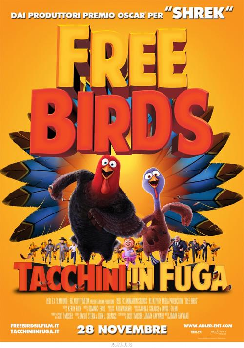 Free Birds - Tacchini in Fuga film