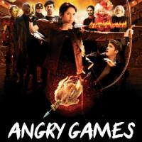 Angry Games - La ragazza con l'uccello di fuoco locandina