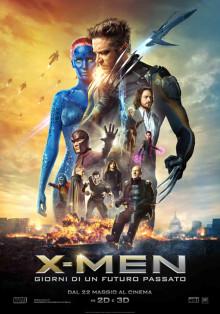 Locandina del film X-Men - Giorni di un Futuro Passato